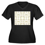 68 queen of hearts crowns Plus Size T-Shirt