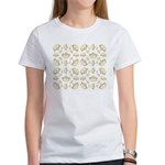 68 queen of hearts crowns T-Shirt