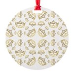 68 queen of hearts crowns Ornament