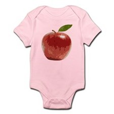 Apple Fruit Washington Fuji Red Food Body Suit