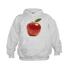 Apple Fruit Washington Fuji Red Food Hoodie
