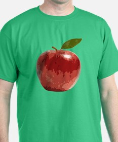 Apple Fruit Washington Fuji Red Food T-Shirt