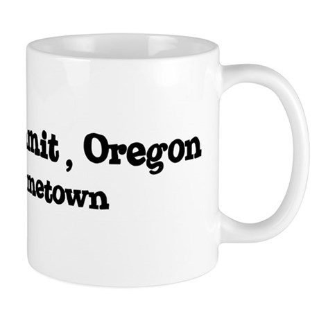 Cascade Summit - Hometown Mug