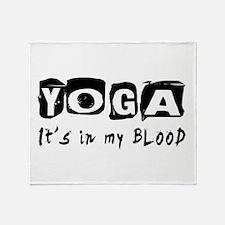 Yoga Designs Throw Blanket