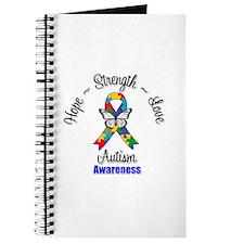 Hope Strength Love Autism Journal
