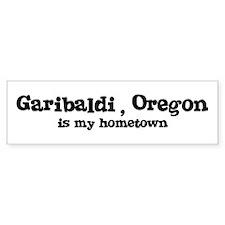 Garibaldi - Hometown Bumper Bumper Sticker