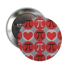 "Love Pi 2.25"" Button"