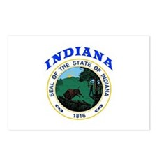 Indiana State Seal Postcards (Package of 8)