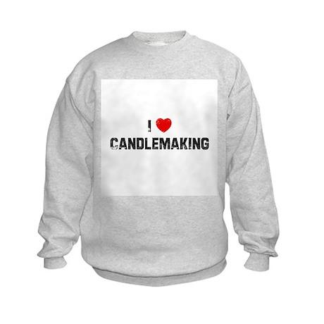 I * Candlemaking Kids Sweatshirt
