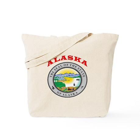 Alaska State Seal Tote Bag