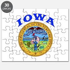 Iowa State Seal Puzzle