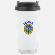 Iowa State Seal Travel Mug