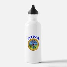 Iowa State Seal Water Bottle