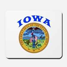 Iowa State Seal Mousepad