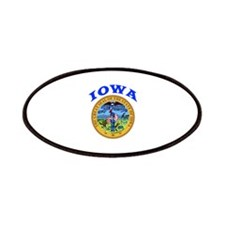 Iowa State Seal Patches