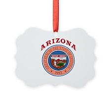 Arizona State Seal Ornament