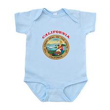 California State Seal Infant Bodysuit