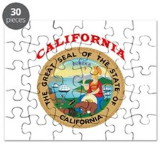 California State Seal Puzzle
