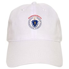 Massachusetts State Seal Baseball Cap