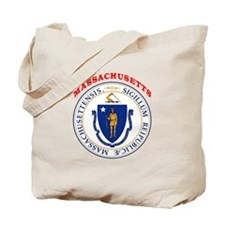 Massachusetts State Seal Tote Bag