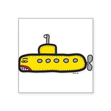 yellow sub Sticker
