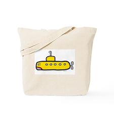 yellow sub Tote Bag
