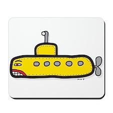 yellow sub Mousepad