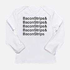 Bacon Strips Long Sleeve T-Shirt