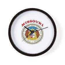 Missouri State Seal Wall Clock
