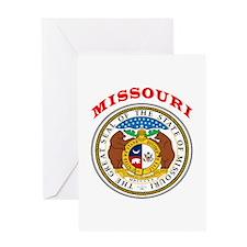 Missouri State Seal Greeting Card