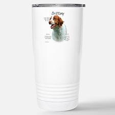 Cute Brittany spaniel Travel Mug