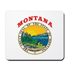 Montana State Seal Mousepad