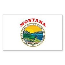 Montana State Seal Decal