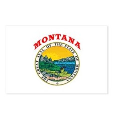 Montana State Seal Postcards (Package of 8)