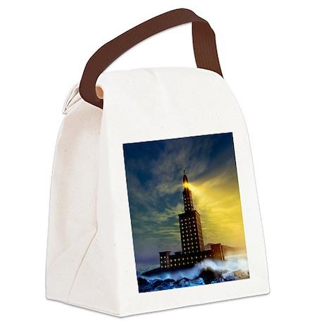 , artwork - Canvas Lunch Bag