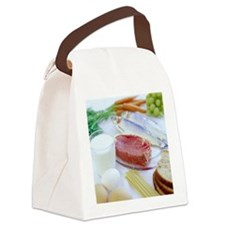 Balanced diet - Canvas Lunch Bag