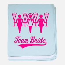 Team Bride (Bachelorette Party), magenta baby blan