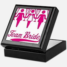 Team Bride (Bachelorette Party), magenta Keepsake