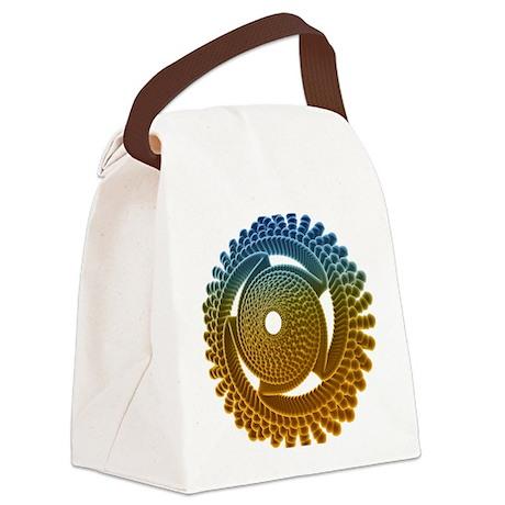 Nano turbine - Canvas Lunch Bag