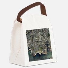 Plymouth, UK, aerial image - Canvas Lunch Bag