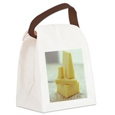 Cheddar cheese - Canvas Lunch Bag
