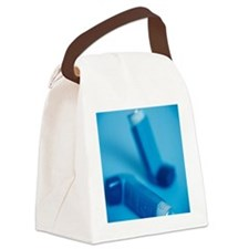 Asthma inhalers - Canvas Lunch Bag
