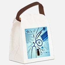 Medical equipment - Canvas Lunch Bag