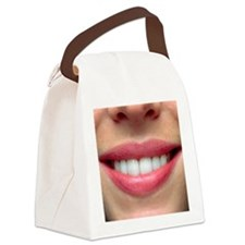 wing healthy teeth - Canvas Lunch Bag