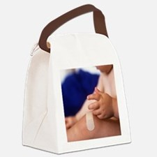 Sore knee - Canvas Lunch Bag