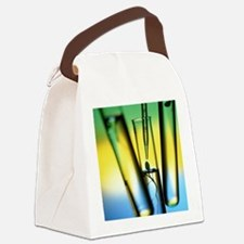 dlings with pipette - Canvas Lunch Bag
