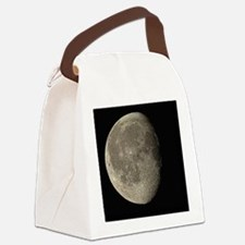 Waning gibbous Moon - Canvas Lunch Bag