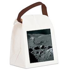 Apollo 17 astronaut - Canvas Lunch Bag
