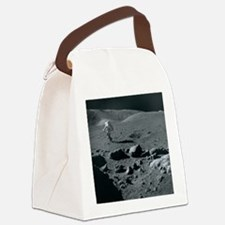Apollo 17 astronaut - Canvas Lunch Bag