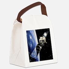 Eureca satellite - Canvas Lunch Bag